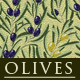 Olives Wallpaper Pattern