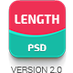 Length | One Page PSD Template