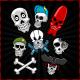 Skull Set - GraphicRiver Item for Sale