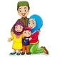 Muslim Family - GraphicRiver Item for Sale
