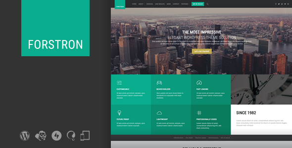 Forstron – Legal Business WordPress Theme