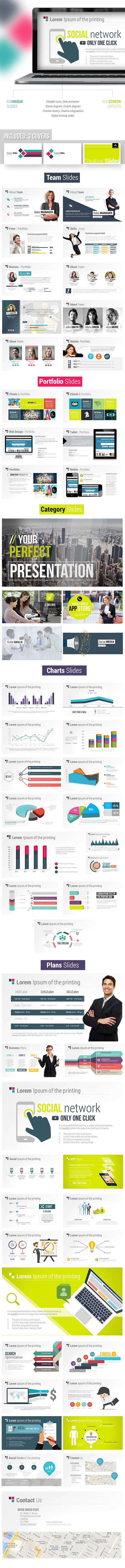 Fresh Digital Slides - Creative Powerpoint Templat - Creative PowerPoint Templates
