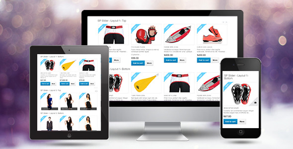 SP Slider - Responsive Prestashop Module - CodeCanyon Item for Sale