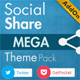 Social Share Mega Theme Pack - WordPress - CodeCanyon Item for Sale