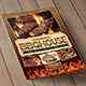 BBQ / Steak Menu Bifold - GraphicRiver Item for Sale