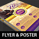 Clergy Anniversary Flyer Poster Template - GraphicRiver Item for Sale