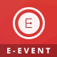 E-Event - Elegant HTML Template For Events  Nulled