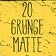 20 Grunge Matte  - VideoHive Item for Sale