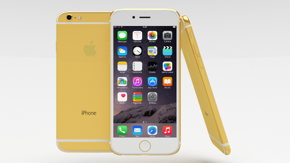 iPhone 6 Gold Plated - 3DOcean Item for Sale