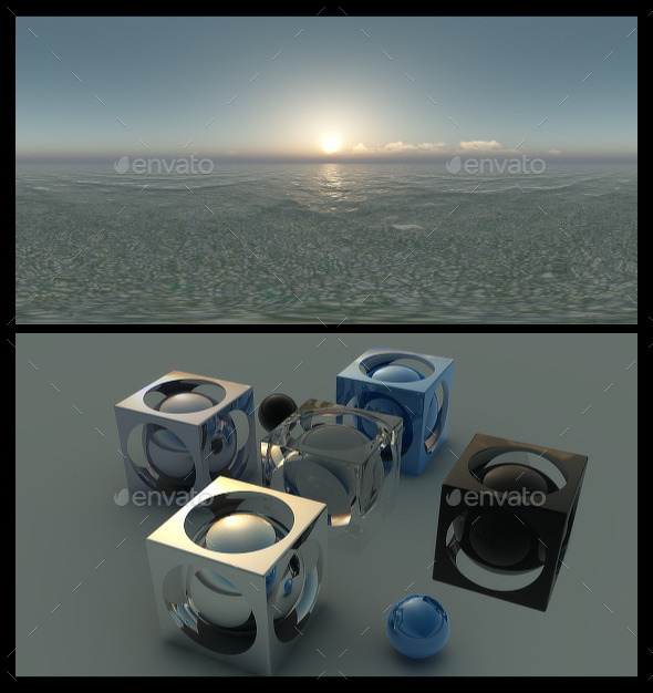 Ocean Dawn 2 - HDRI - 3DOcean Item for Sale