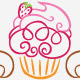 Curvy Cupcakes Logo - GraphicRiver Item for Sale