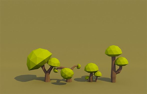 Mushroom Tree - 3DOcean Item for Sale