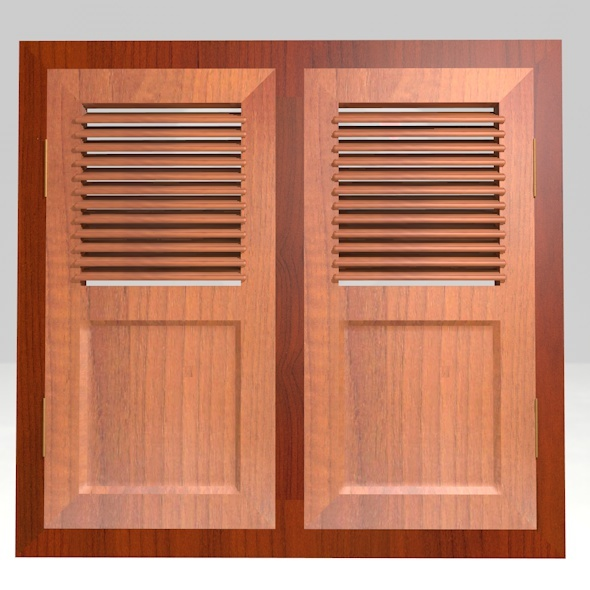 Wooden Windows - 3DOcean Item for Sale
