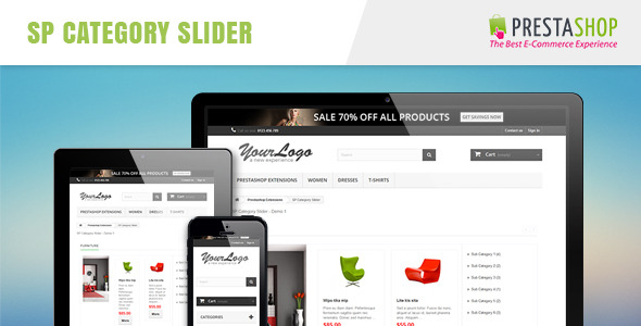 SP Category Slider - Responsive Prestashop Module - CodeCanyon Item for Sale