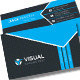 Visuial Corporate Business Cards - GraphicRiver Item for Sale