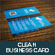 Clean Vertical Business Card V2 - GraphicRiver Item for Sale