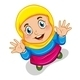 Muslim Girl  - GraphicRiver Item for Sale