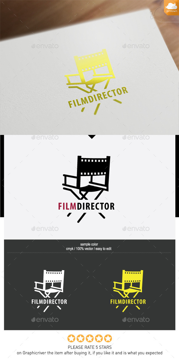 FilmDirector - Objects Logo Templates