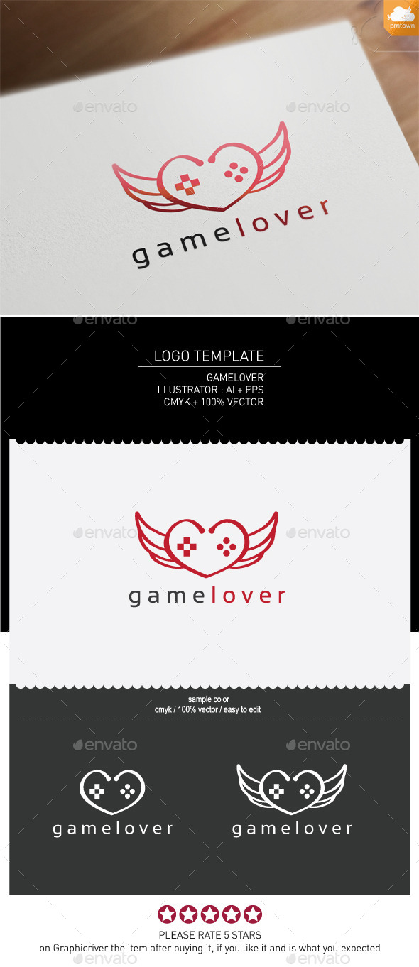 Gamelover - Objects Logo Templates