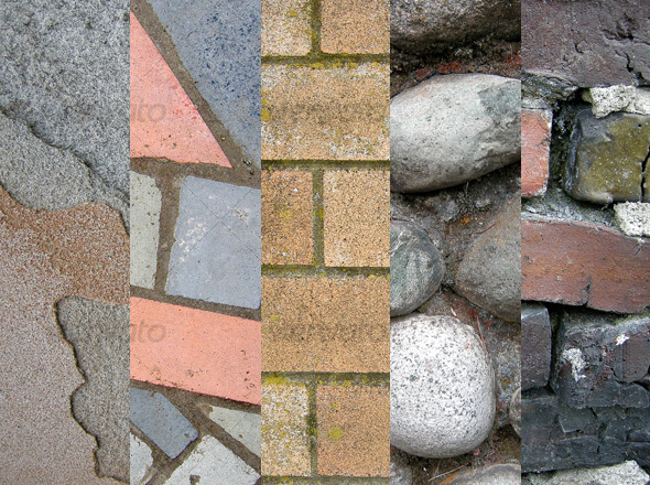 Stone and Brick Texture Pack 1 - Stone Textures