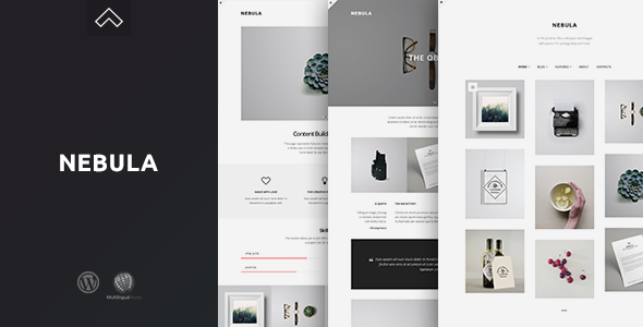 Nebula – A Clean & Minimal Portfolio Theme