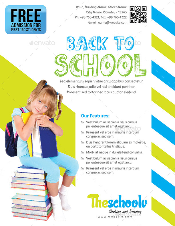 Back to School - Education Flyer by GraphiteMedia | GraphicRiver
