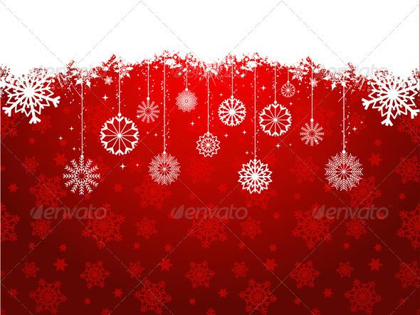 Christmas snowflakes - Characters Vectors