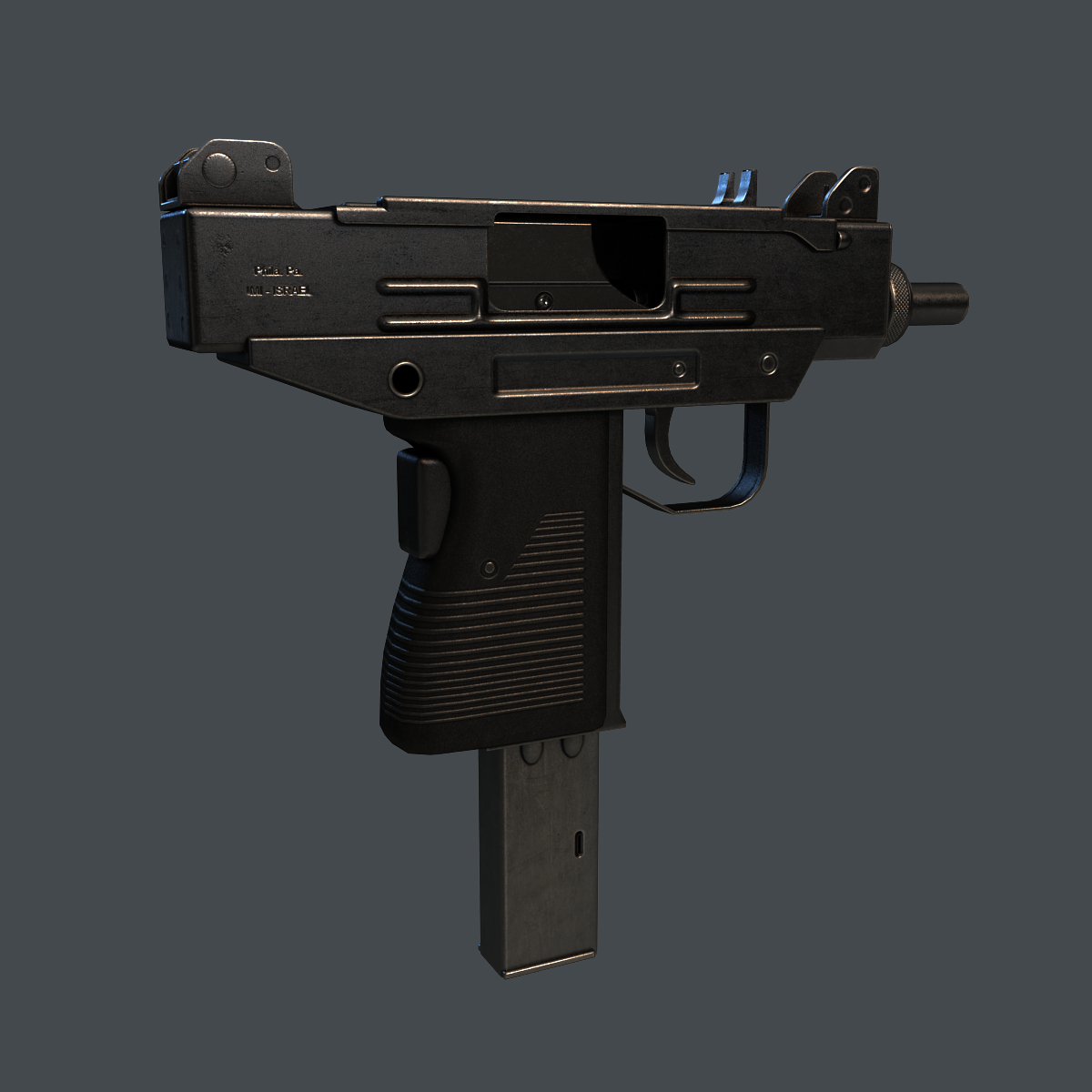 Micro Uzi Smg By Drumdorf 3docean