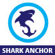 Shark Anchor Logo Template - GraphicRiver Item for Sale