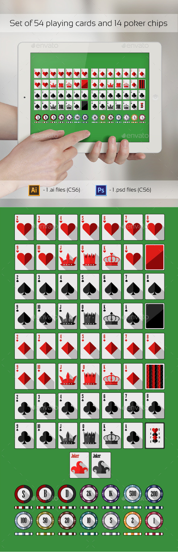 Poker Set - Miscellaneous Game Assets