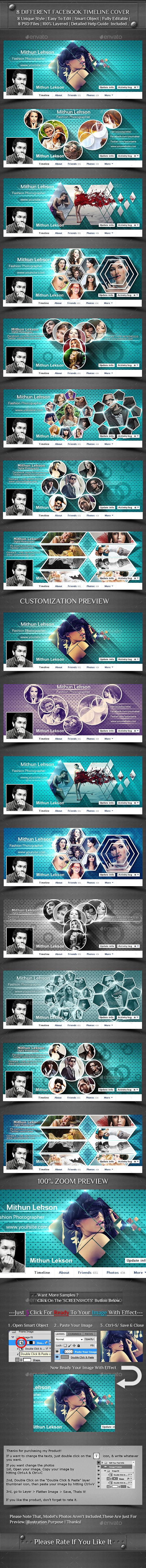 8 Different Facebook Timeline Cover - Facebook Timeline Covers Social Media