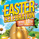 Happy Easter Flyer Template Nulled