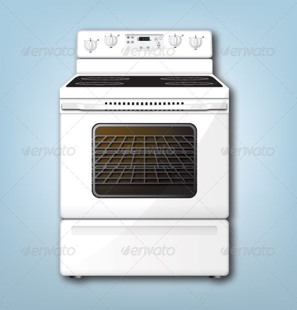 Oven Graphic - Man-made Objects Objects