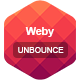 Weby - Unbounce Template - ThemeForest Item for Sale