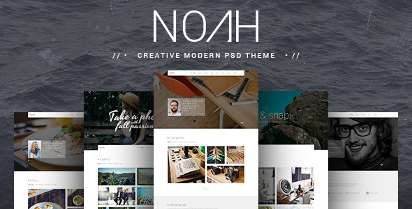 NOAH | PSD Theme