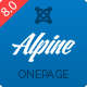 Alpine - Responsive One Page Joomla Template - ThemeForest Item for Sale