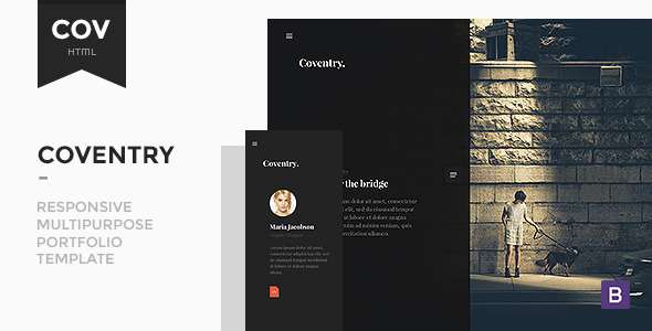 Coventry - Multipurpose Portfolio Template - Creative Site Templates