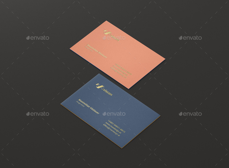Business Cards Mock-Ups by visconbiz   GraphicRiver
