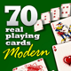 "70 Real Playing Cards ""Modern"" - GraphicRiver Item for Sale"
