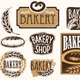Set of Vintage Bakery Labels - GraphicRiver Item for Sale