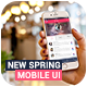 Slade New Spring Mobile UI App Design - GraphicRiver Item for Sale