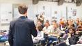 Speaker Talking at Business Conference. - PhotoDune Item for Sale