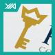 Royal Key - King Palace Hotel Logo - GraphicRiver Item for Sale