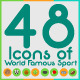 World Famous Sports Icon - GraphicRiver Item for Sale