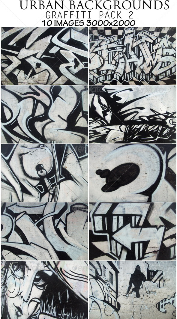 Urban backgrounds(v-2) - Art Textures