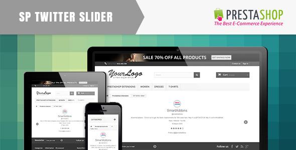 SP Twitter Sider - Responsive Prestashop Module - CodeCanyon Item for Sale
