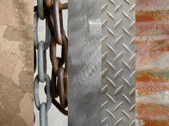 Metal Texture Pack 2 - Metal Textures