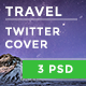 Travel Twitter Timeline Cover - GraphicRiver Item for Sale