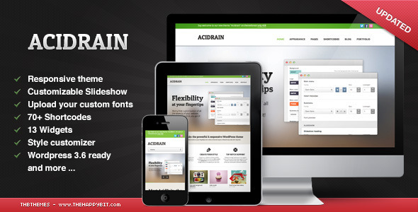 AcidRain - Corporate WordPress
