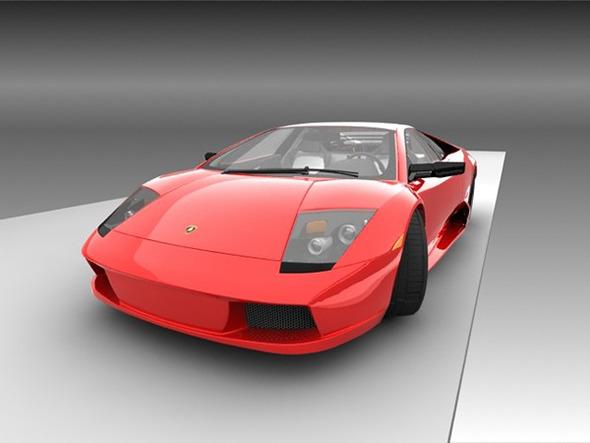 Lamborghini Murcielago - 3DOcean Item for Sale